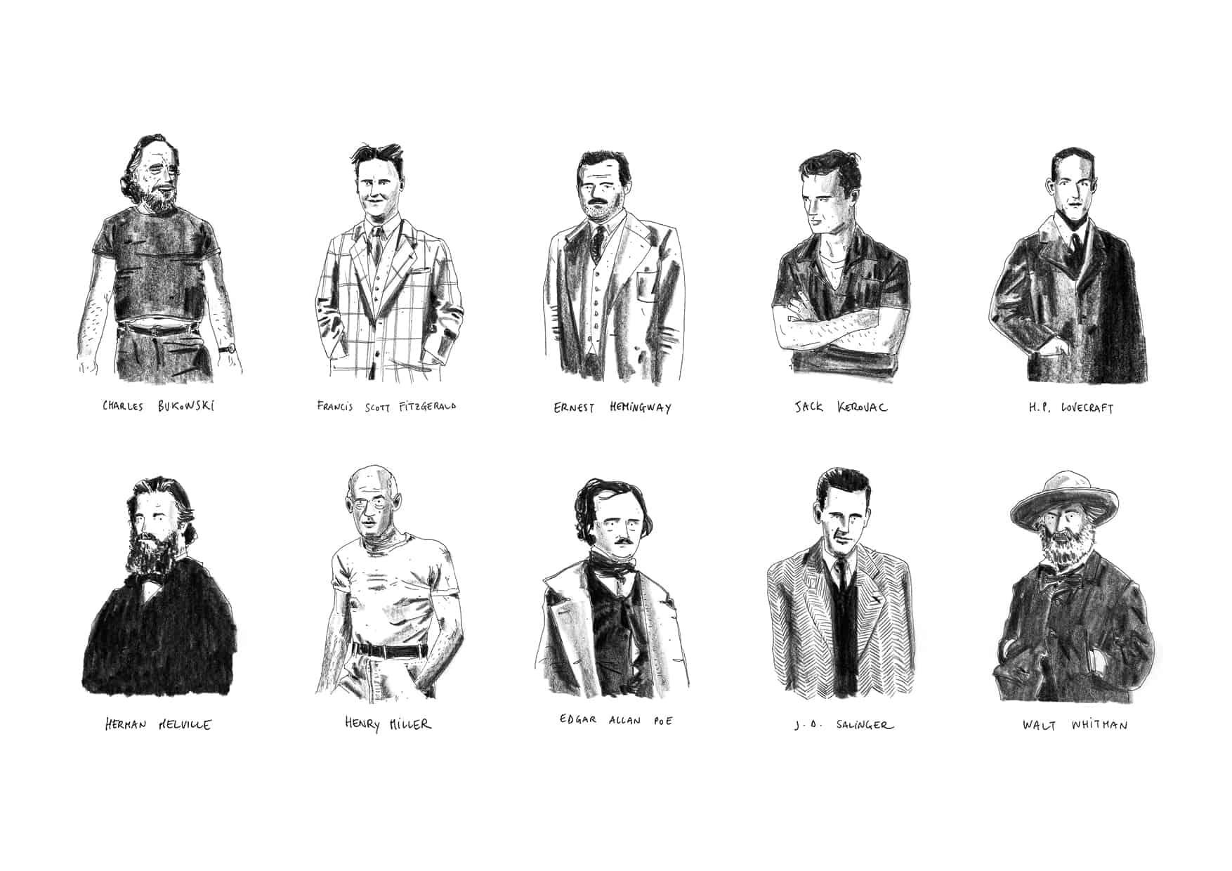 Dead American Writers