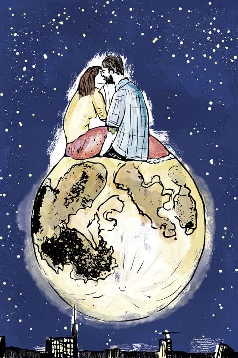Moon Kissing