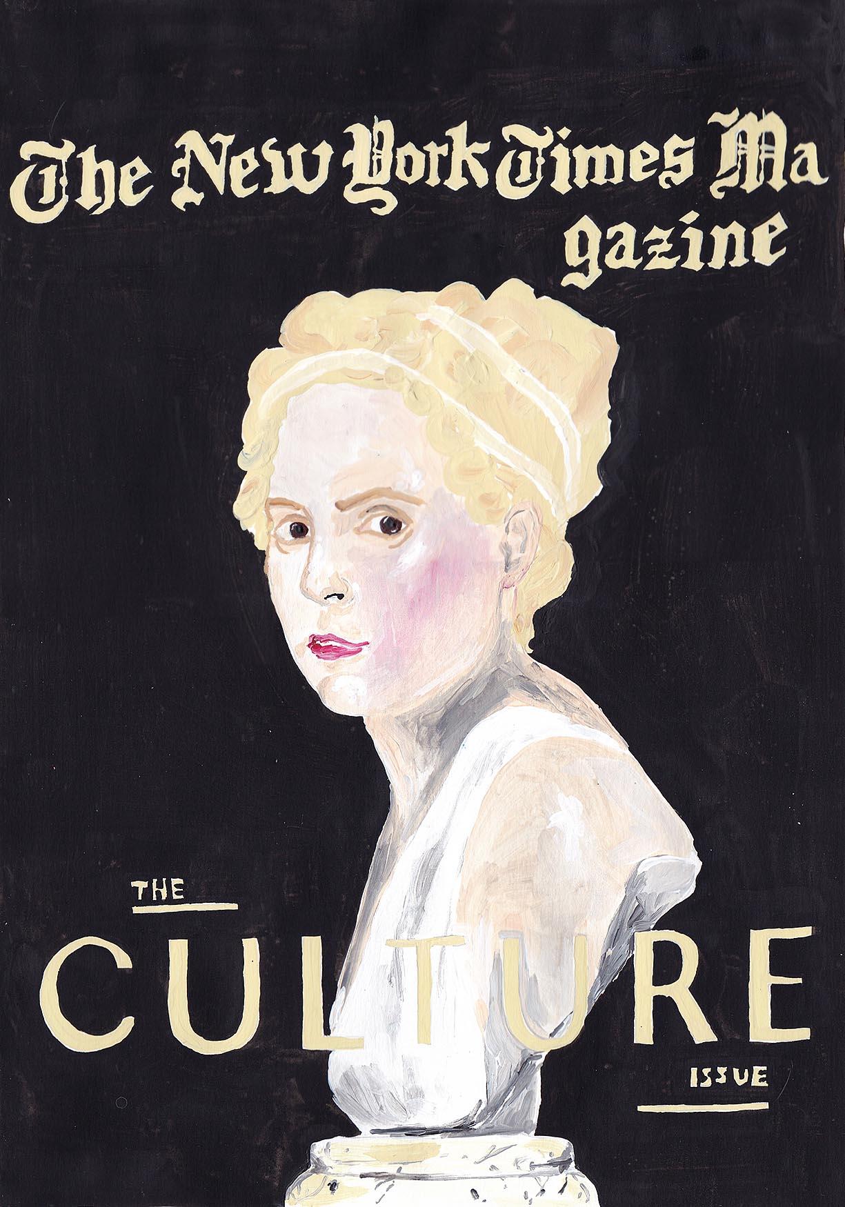 The NYT magazine, Lena Dunham